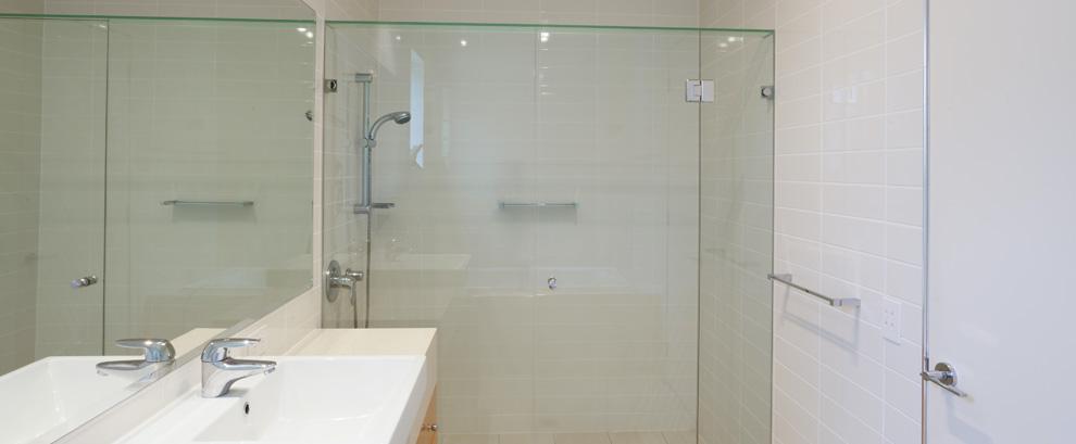 doccia in vetro bagno